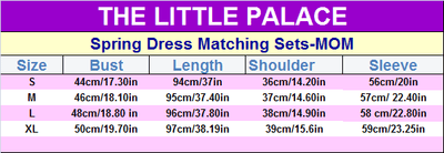 Spring Dress Matching Sets - Little Palace Store