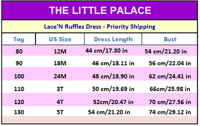 Sunshine Princess Dress - Priority Shipping - Little Palace Store