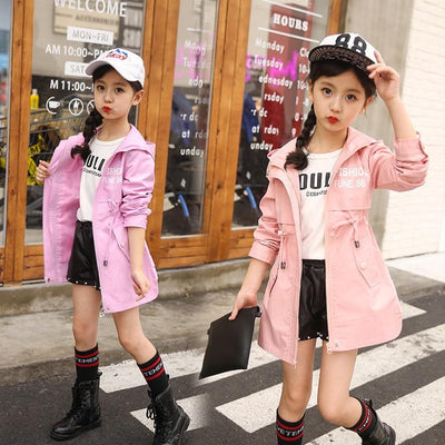 The Pink Trench Coat - Little Palace Store