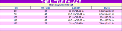 The Sassy Matching Set - Little Palace Store
