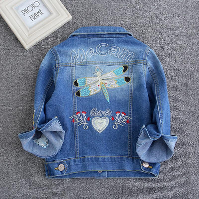 The Trendy Girl Denim Jacket - Little Palace Store