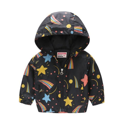 The Trendy Rainbow Windbreaker - Little Palace Store