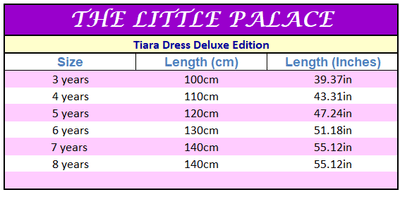 Tiara Dress Deluxe Edition - Little Palace Store