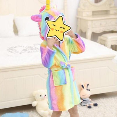 Unicorn Bathrobes-Priority Shipping - Little Palace Store