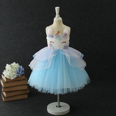 Unicorn Deluxe Party Dress - Little Palace Store