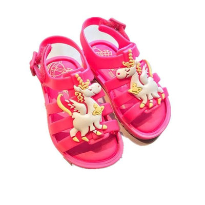 Unicorn Design Sandals - Little Palace Store