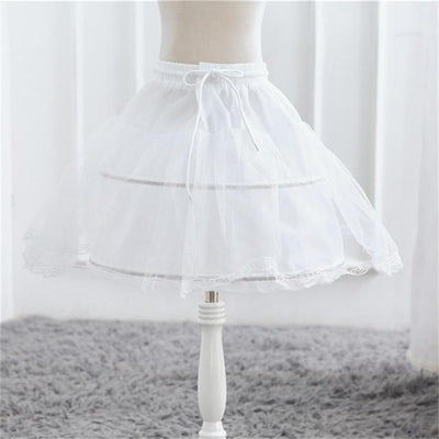 White Tulle Petticoat - Little Palace Store