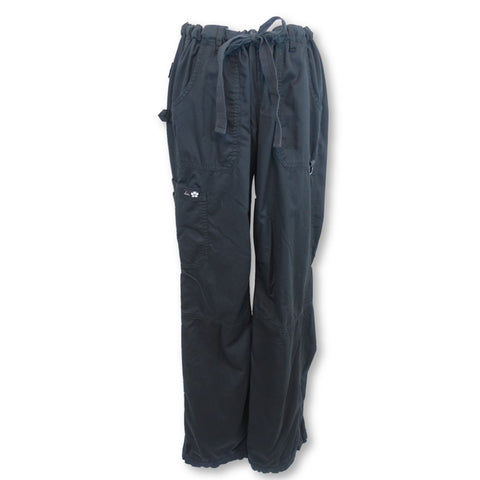 Koi Low-Rise Cargo Pant (701) >> Black, Large Tall