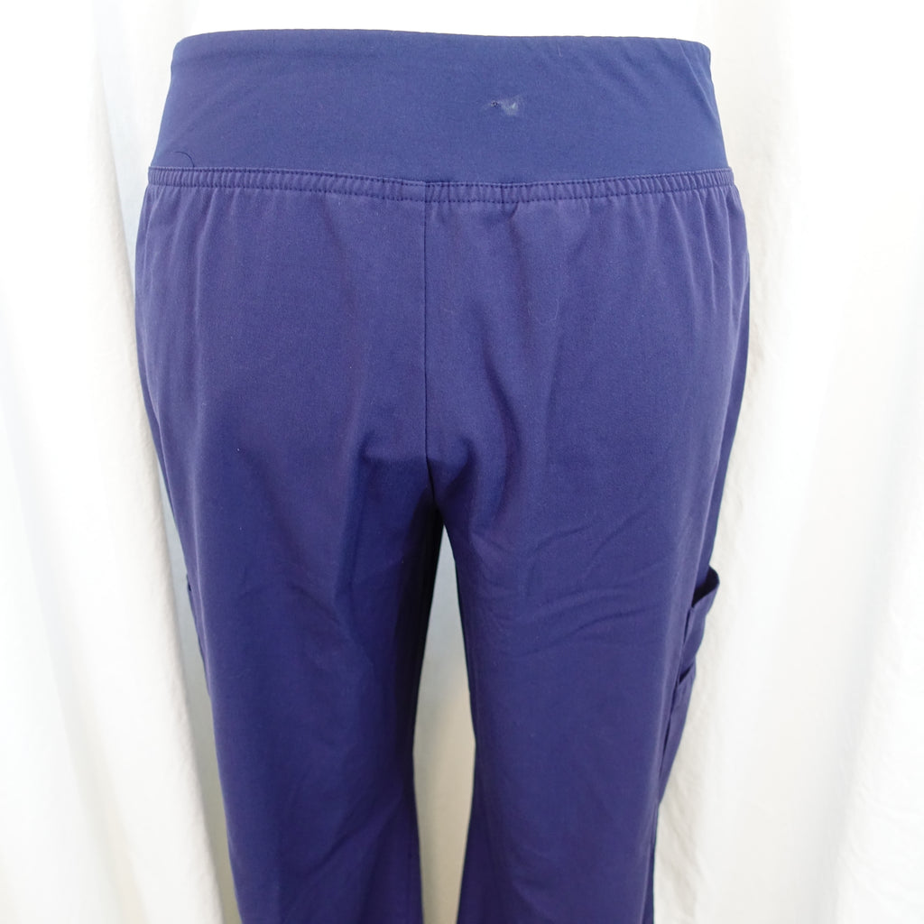 70cfb7b6040ff Marvella by White Cross Elastic Waist Yoga Pant (354) >> Navy, Small.  Images / 1 / 2 / 3 / 4 ...