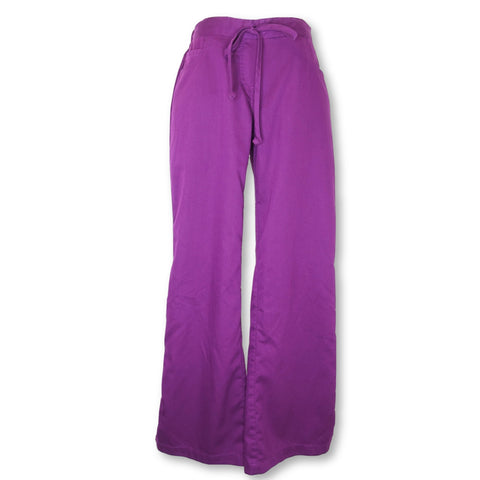 Grey's Anatomy Classic 5 Pocket Drawstring Pant (4232) >> Fuchsia, X-Small Petite