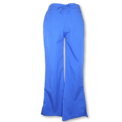 Workwear Premium Flare Leg Pant (4222) >> Royal Blue, XX-Small Petite