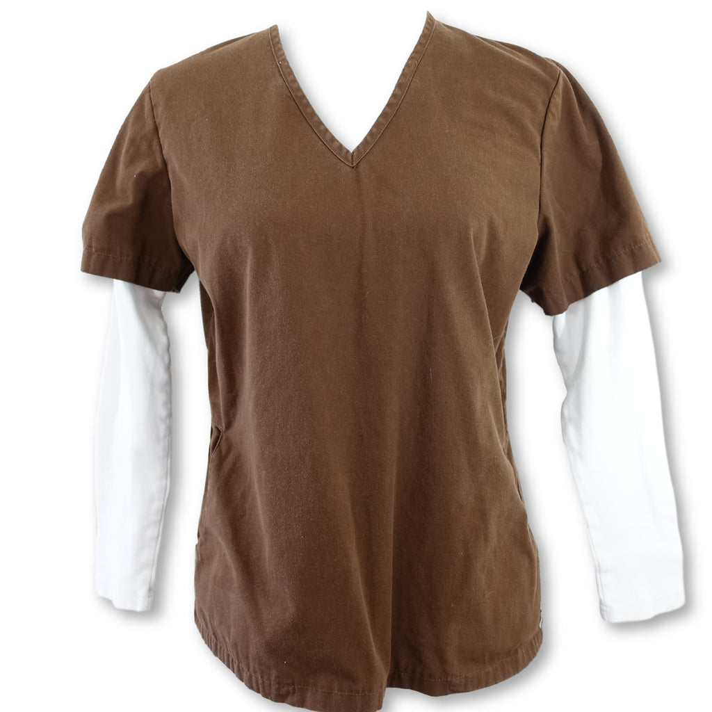 Katherine Heigl V-Neck Top (5304) >> Cafe, Small