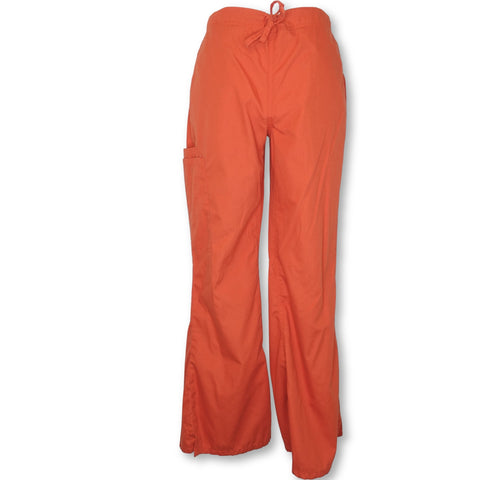 UA Butter-Soft Drawstring Pant (47) >> Orange Blast, XX-Small