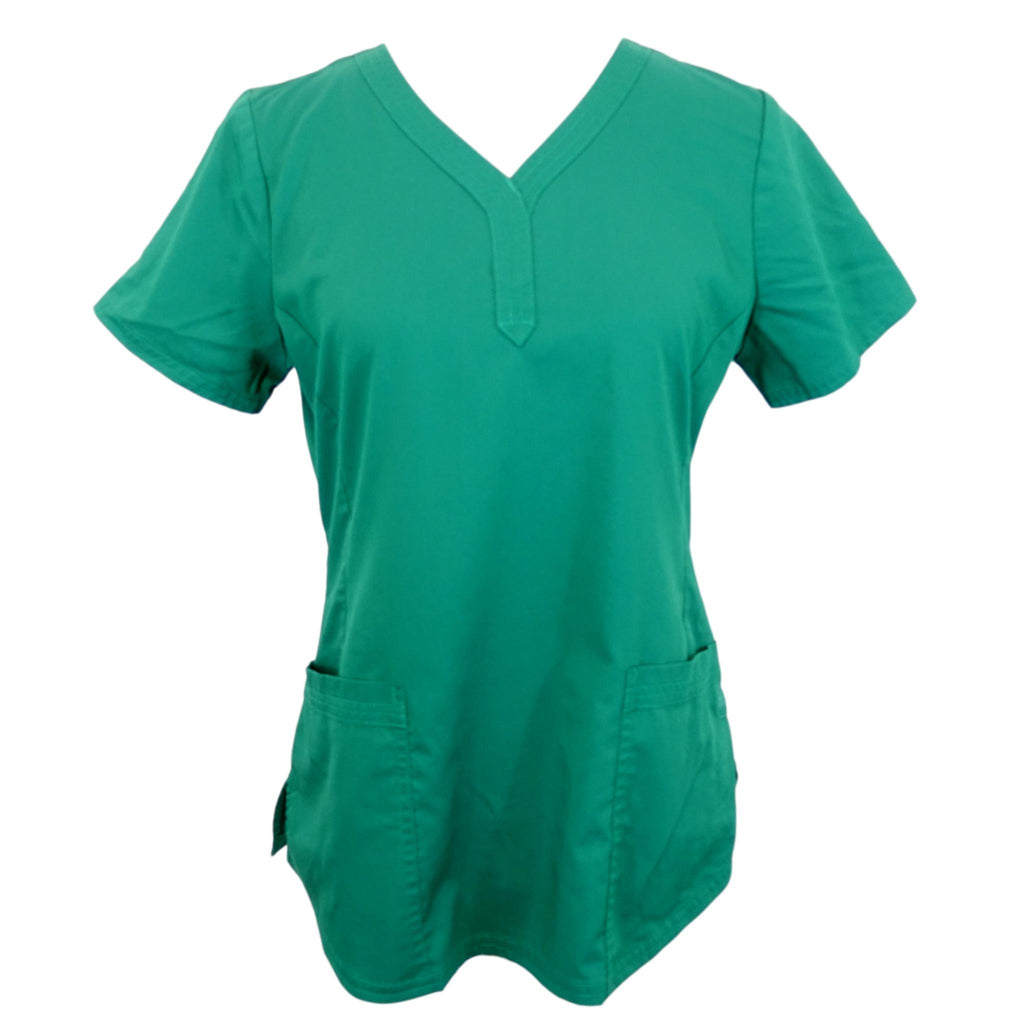 Healing Hands Purple Label Modern Fit Top (2167) >> Hunter Green, Medium