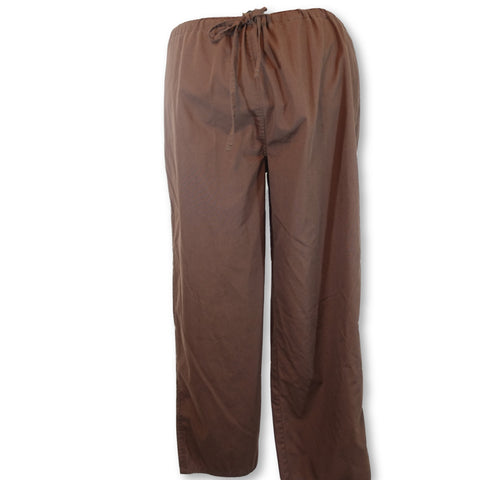 Tafford Drawstring Unisex Pant (820) >> Coffee, 2X-Large