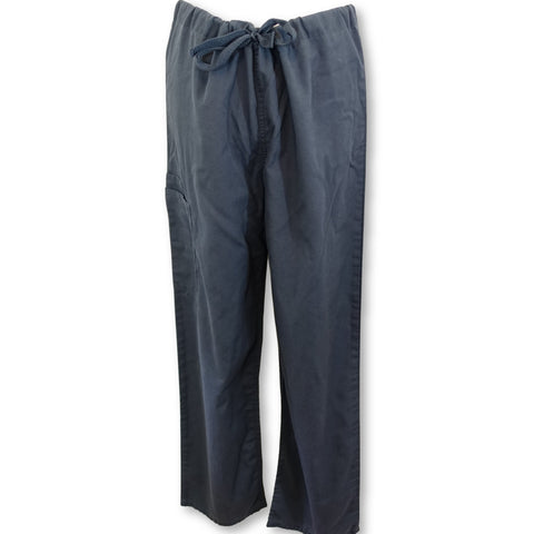 Cherokee Workwear Unisex Drawstring Pant (4100) >> Pewter, Small