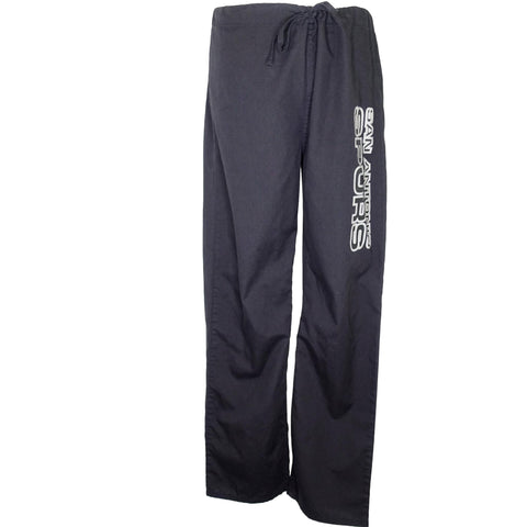 NBA San Antonio Spurs Unisex Pant (1191) >> Black, X-Small