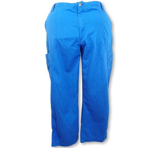 Carhartt Men's Multi-Cargo Pant (54108) >> Royal Blue, 2X-Large