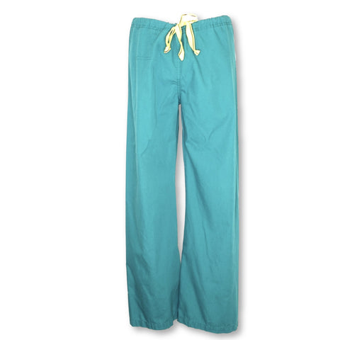 WonderWink Papa Unisex Pant (5006) >> Hunter Green, X-Small