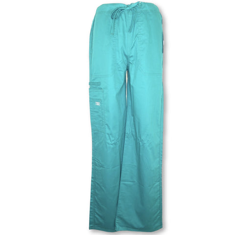 Cherokee Workwear Unisex Stretch Cargo Pant (4043) >> Hunter Green, X-Small