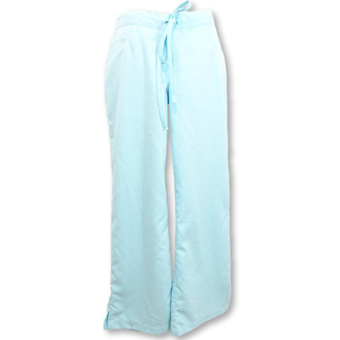 Grey's Anatomy Classic 5 Pocket Drawstring Pant (4232) >> Aqua, X-Small Petite