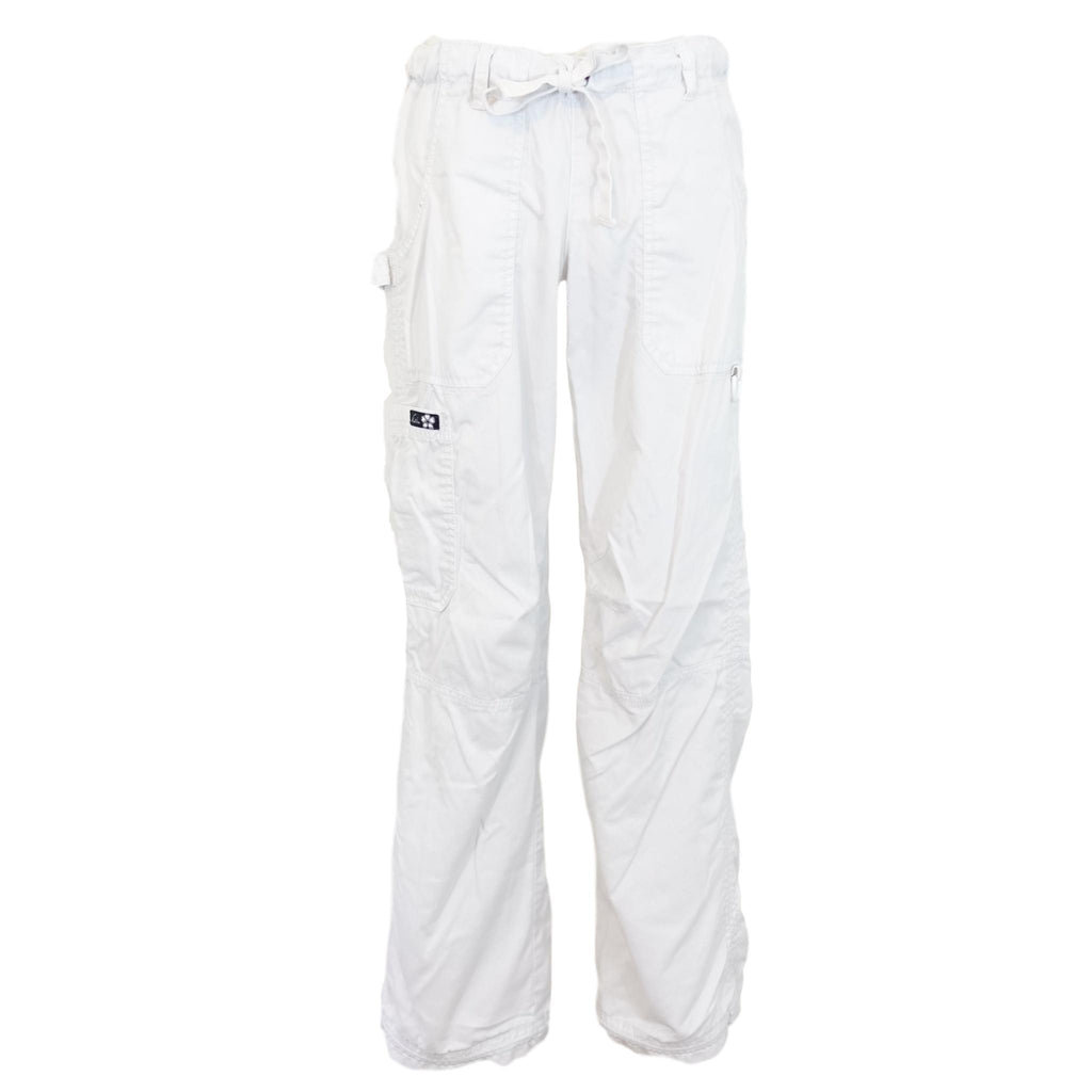 Koi Low-Rise Cargo Pant (701) >> White, Small