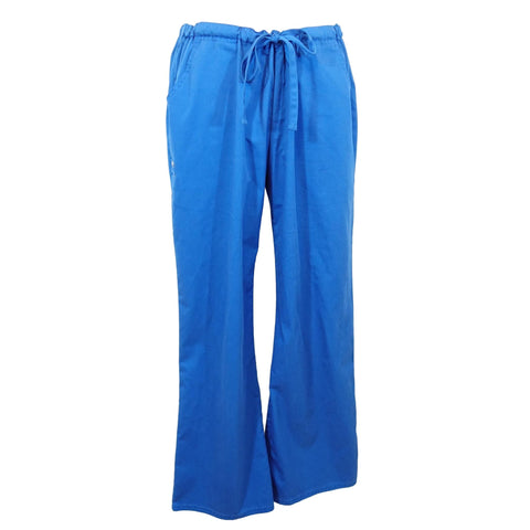 Cherokee Luxe Low Rise Drawstring Pant (1066) >> Royal Blue, Medium