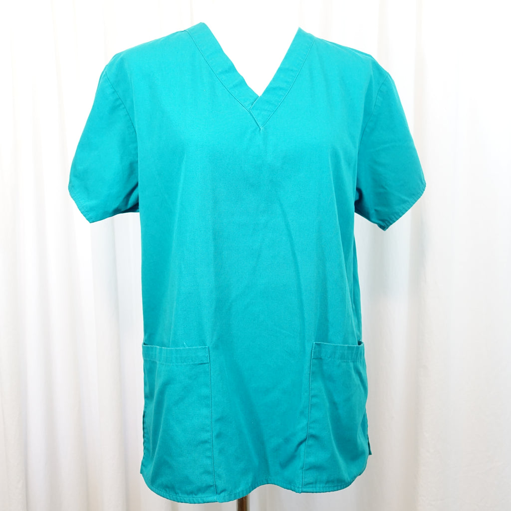67f908e2689 Dickies EDS Signature Scrubs Classic Fit V-Neck Top >> Teal, Small ...