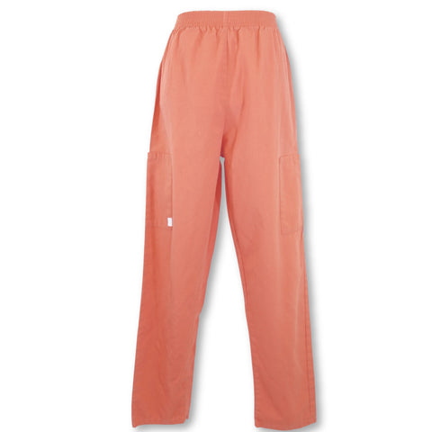 Happy Scrubs Elastic Waist Pant >> Salmon, X-Small