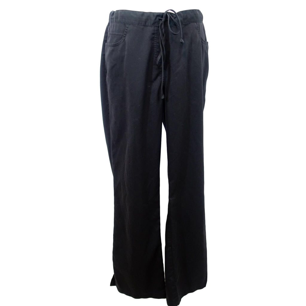 Grey's Anatomy Classic 5 Pocket Drawstring Pant (4232) >> Black, Medium Tall