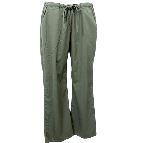 Cherokee Luxe Low Rise Drawstring Pant (1066) >> Olive, X-Large