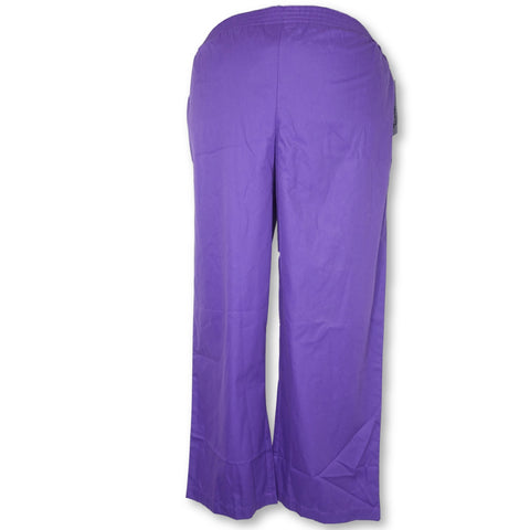 UA Butter-Soft Elastic Waist Pant (36) >> Grape, 2X-Large Petite