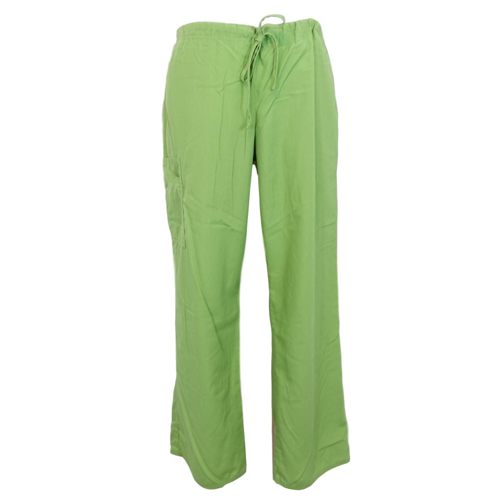 Simply Basic Essentials Drawstring Cargo Pant (967) >> Bright Aloe, Medium