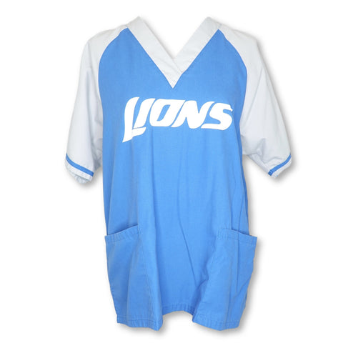 NFL Detroit Lions Ragline Unisex Top >> Patterned, Medium