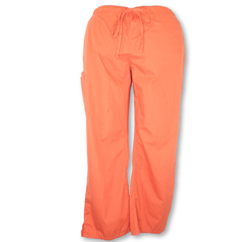 UA Butter-Soft Drawstring Pant (47) >> Orange Blast, 3X-Large
