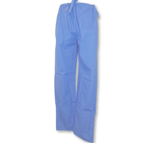 Landau Unisex Reversible Drawstring Pant (7602) >> Ceil Blue, Medium