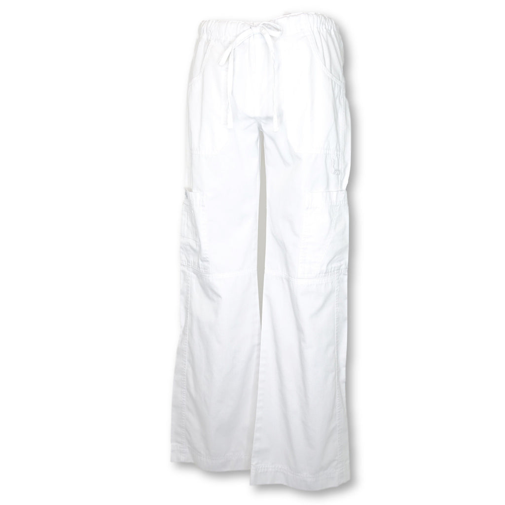 Dickies Contemporary Fit EDS Signature Drawstring Cargo Pant (82156) >> White, X-Small