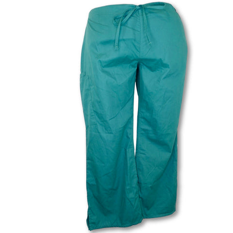 UA Butter-Soft Drawstring Pant (47) >> Hunter Green, 2X-Large Petite