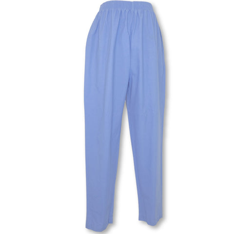 Medline Comfortease Elastic Waist Pant (8850) >> Blue, Medium