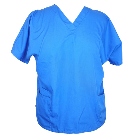 Cherokee Workwear Classic V-Neck (4700) >> Royal Blue, X-Large