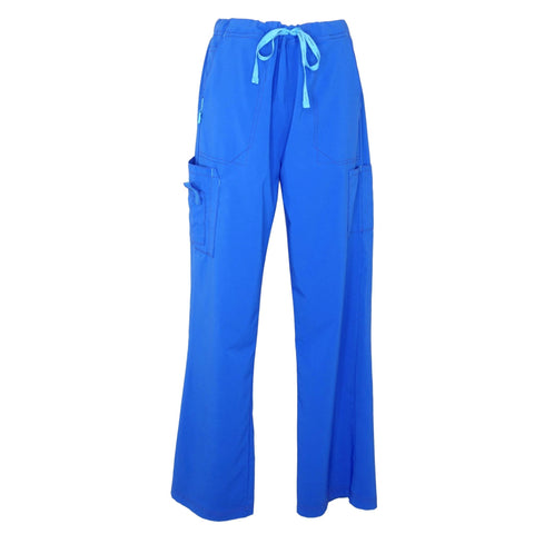Carhartt Cross Flex Utility Boot Cut Pant (52110) >> Royal Blue, Large Petite