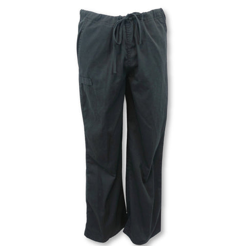 Cherokee Workwear Flex Unisex Straight Leg Pant (34100) >> Black, Small Short