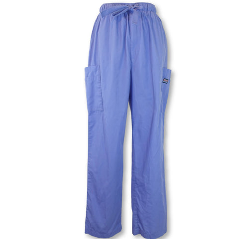 Cherokee Workwear Men's Cargo Pant (4000) >> Ceil Blue, Medium