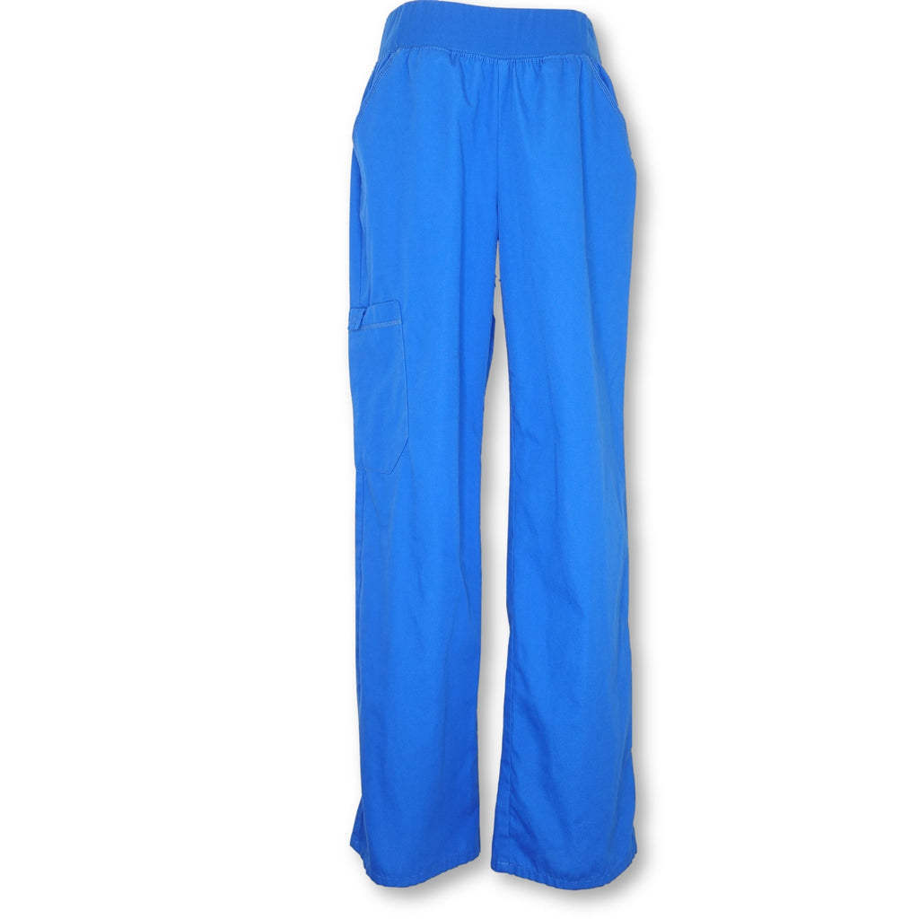 Flexibles by Cherokee Women's Pro Cargo Pants (2085) >> Royal Blue, Small