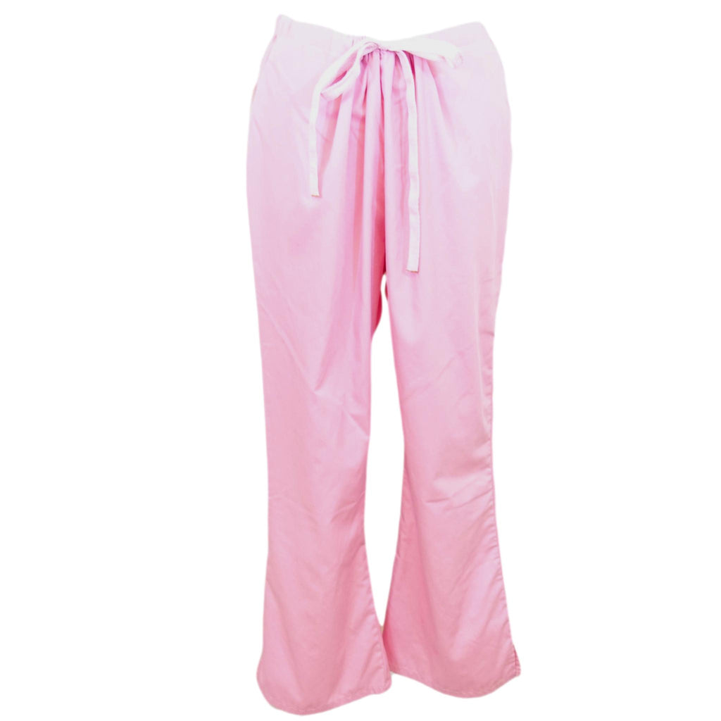 Fashion Seal Drawstring Pant (7093) >> Light Pink, Large