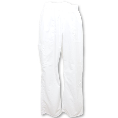 ScrubStar Pull-On Cargo Pant (7009) >> White, Medium