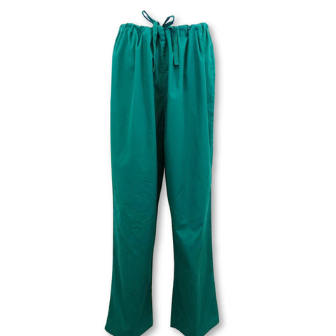 Wal-Mart Unisex Basic Core Scrub Pants (13151) >> Hunter Green, Large