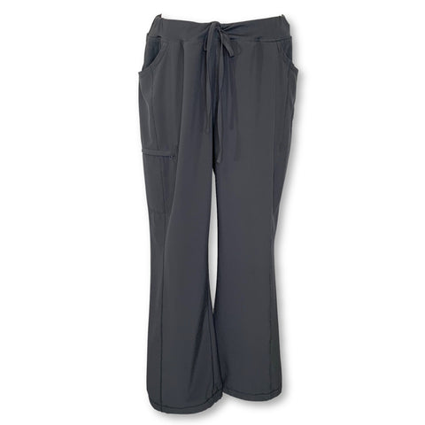 Cherokee Infinity Drawstring Antimicrobial Pant (1123) >> Pewter, X-Large