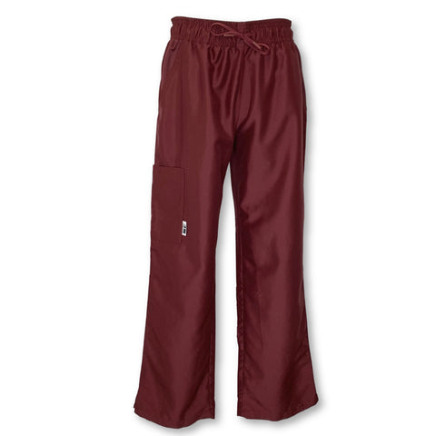 22 Ti Scrubs Straight Leg Scrub Pant >> Bold Burgundy, Medium Petite