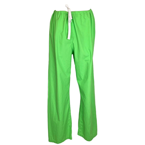 Urbane Essentials Boot Cut Pant (9502) >> Lime Green, Large Tall